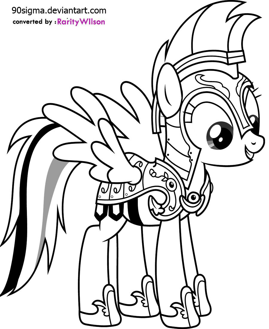 7 Images of Rainbow Dash Printables