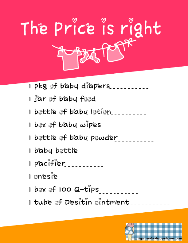 right bridal shower game printable boy baby shower games printable