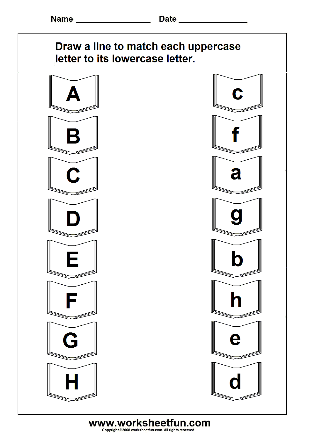 Worksheets Upper And Lowercase Letters Worksheets 8 best images of uppercase and lowercase letters printable worksheets