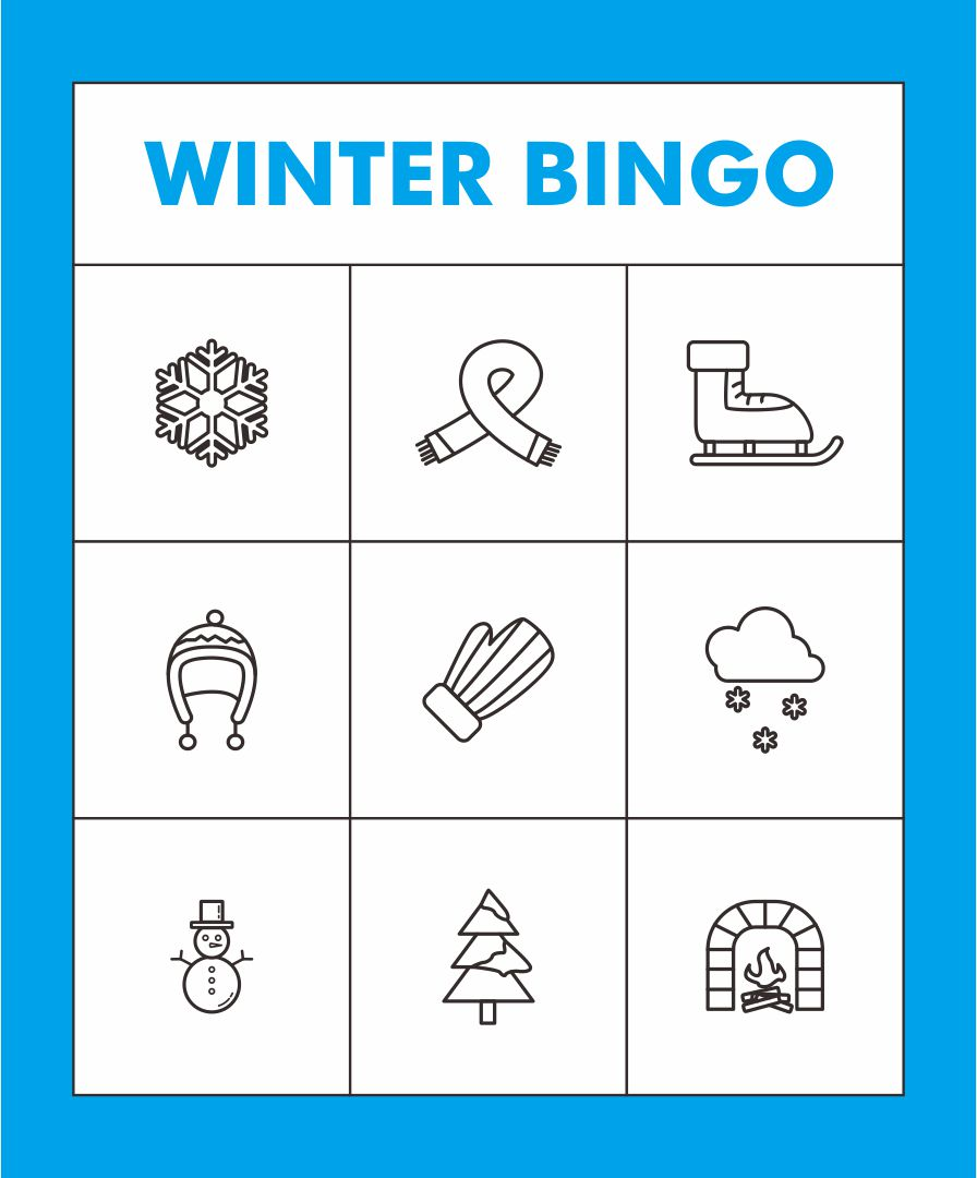 Printable Winter Bingo Cards