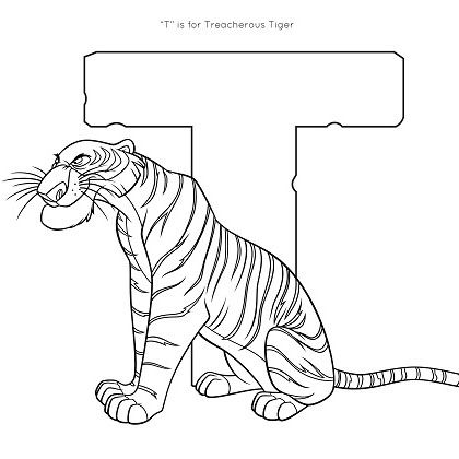 8 Images of Disney Coloring Printables Tiger