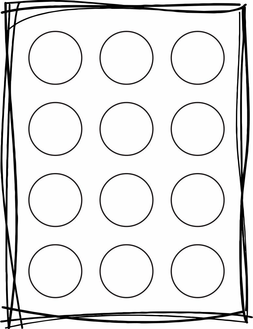1 Inch Circle Template Printable