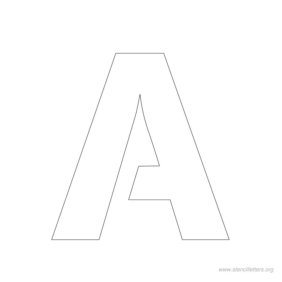 This is a graphic of Nifty 1 Inch Printable Letter Templates