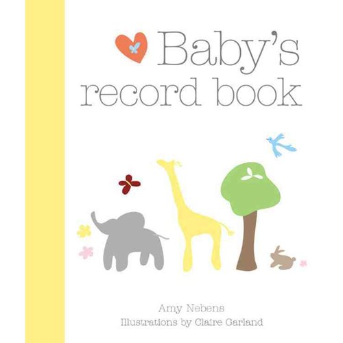 5 Images of Baby Record Book Printable