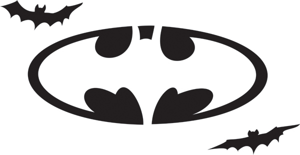 Best images of batman stencil printable logo