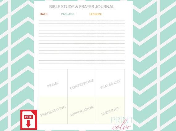 8 Images of Printable Bible Study On Prayer