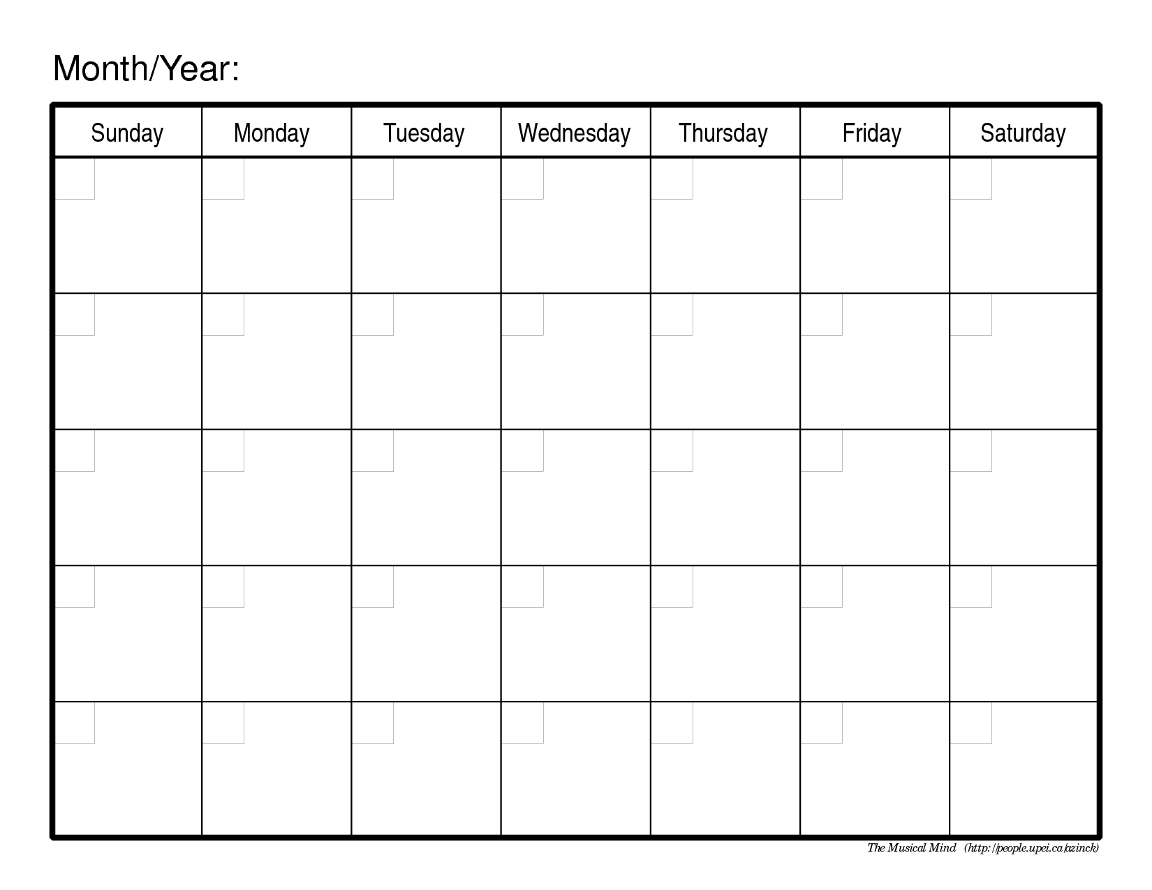 6 Images of Free Printable Monthly Planner Calendar Template
