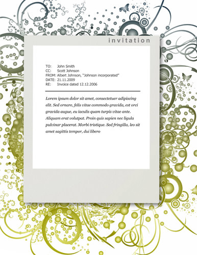 7 Images of Business Invitation Templates Printable Free