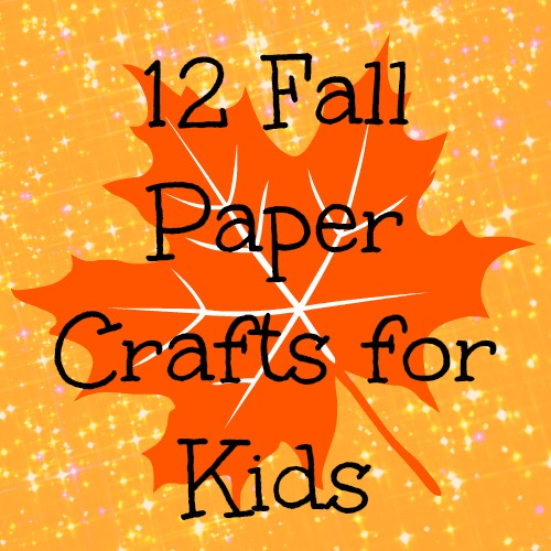 7 best images of easy fall crafts printable free for Simple fall crafts for kids