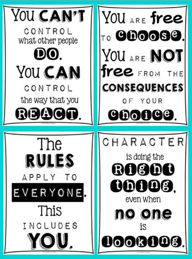 5 Images of Free Printable Posters On Attitude