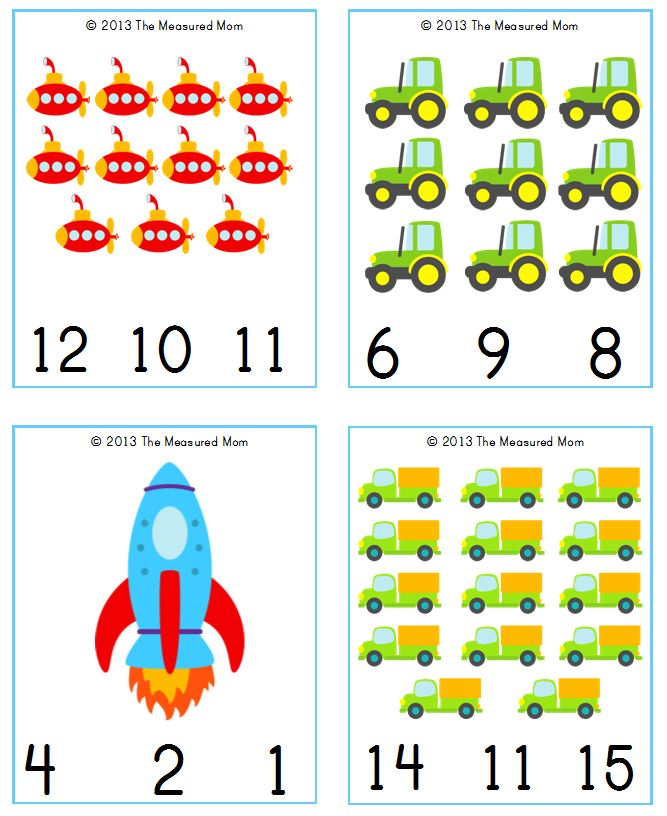 Counting 1 To 20 Printable Worksheets - K5 Worksheets