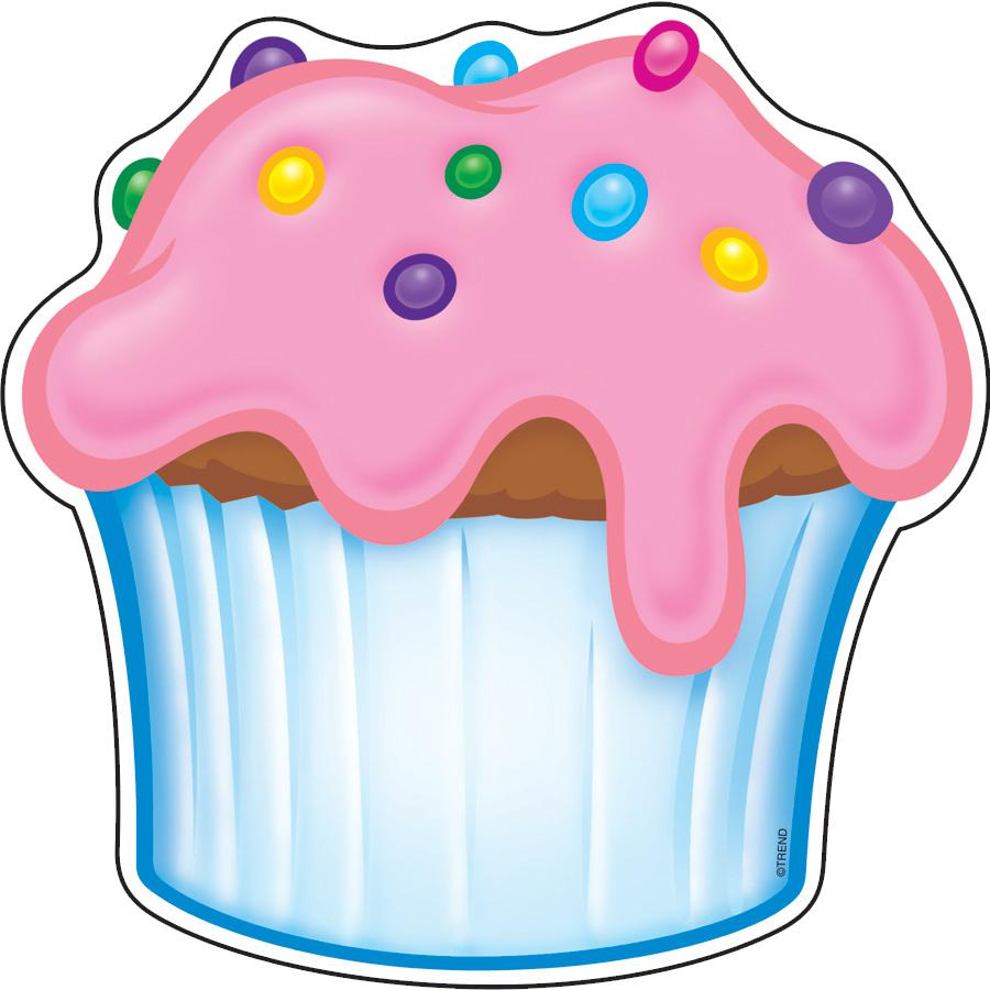 Free Printable Images Of Cupcakes : 6 Best Images of Birthday Cupcake Template Printable ...