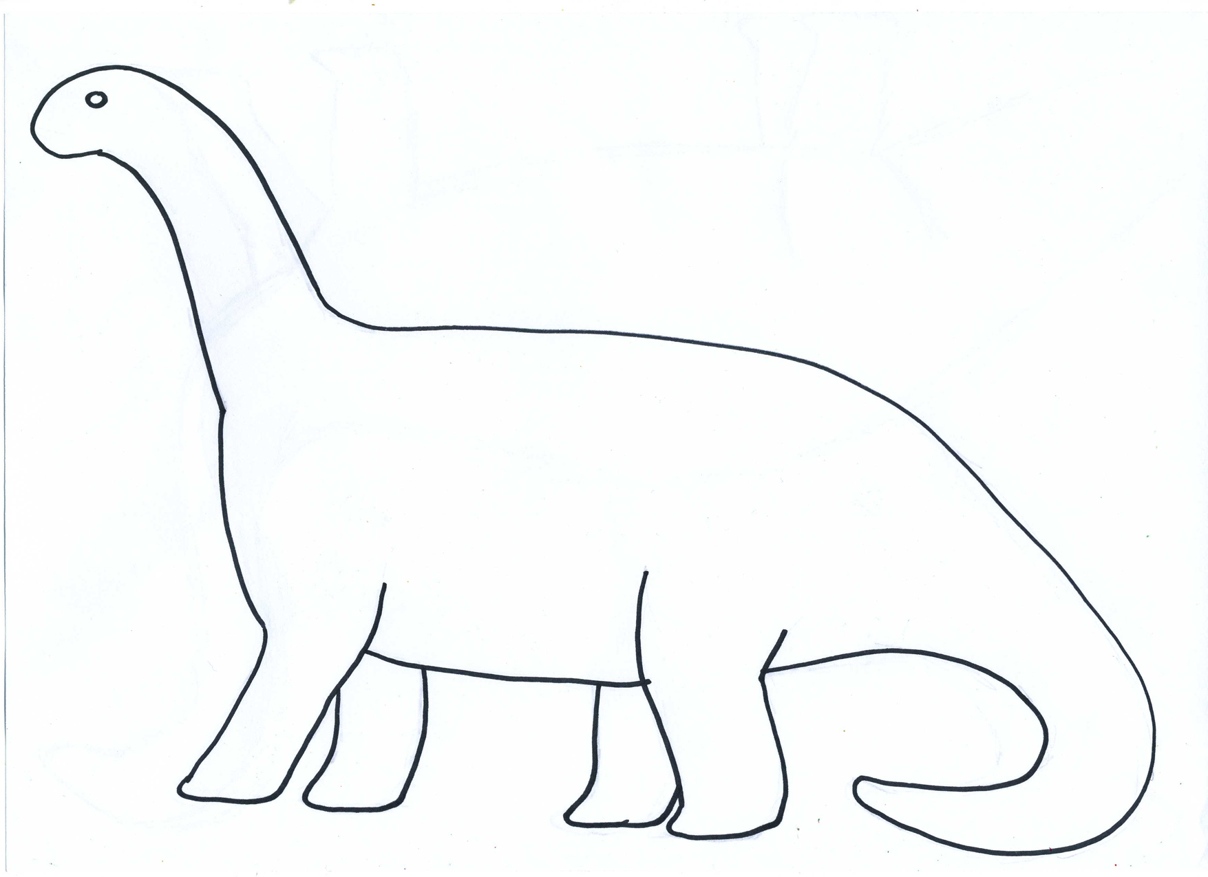6 Images of Dinosaurs Printables Cut Out Templates