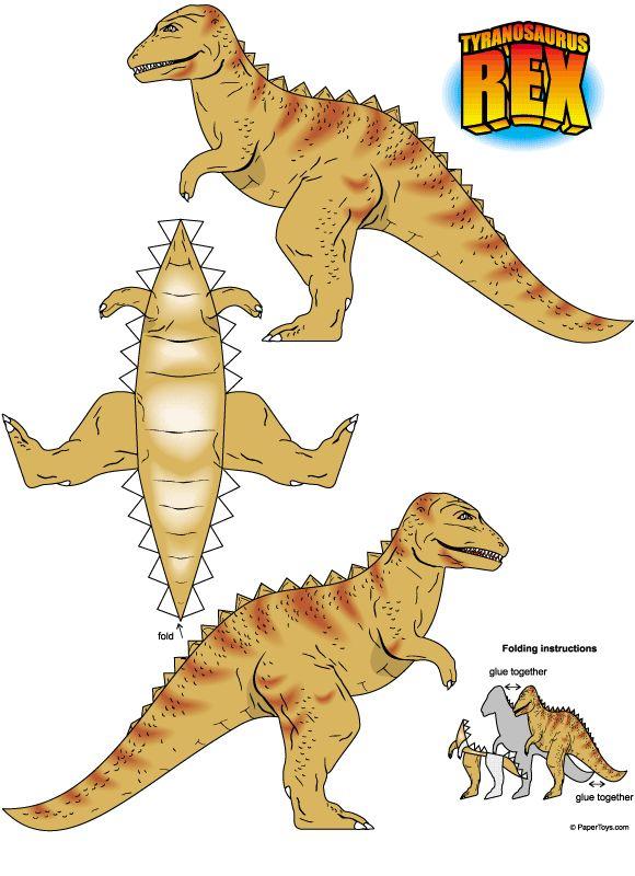 4 Images of Sean Free Dinosaur Printables