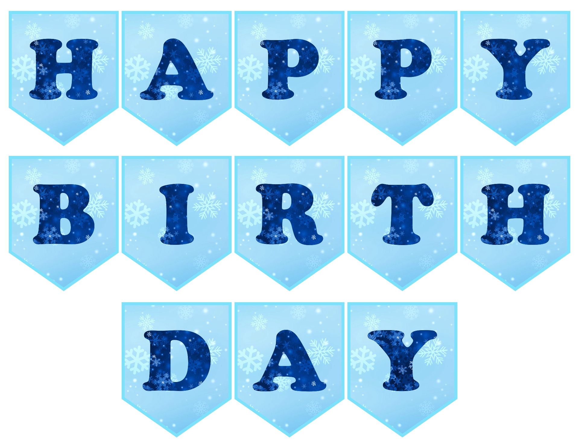 8 best images of printable frozen banner happy birthday