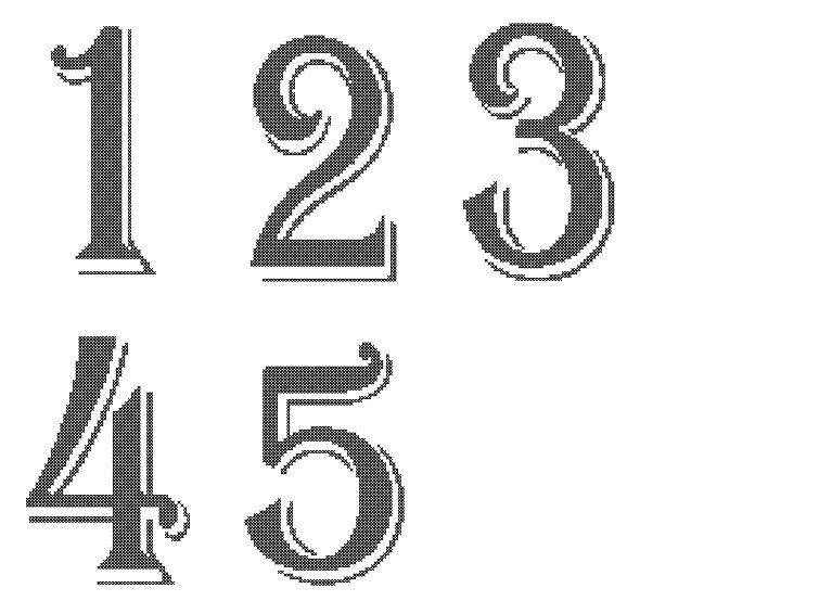 Number Names Worksheets printable numbers 1 to 10 : 6 Best Images of Free Printable Table Numbers 1-10 - Kindergarten ...