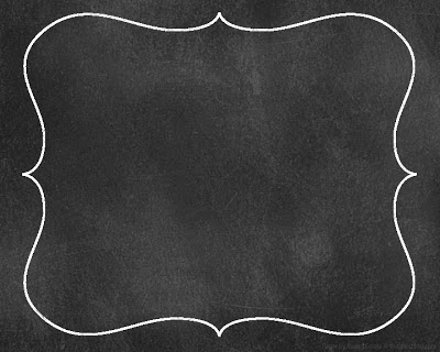 6 Images of Printable Chalkboard Borders