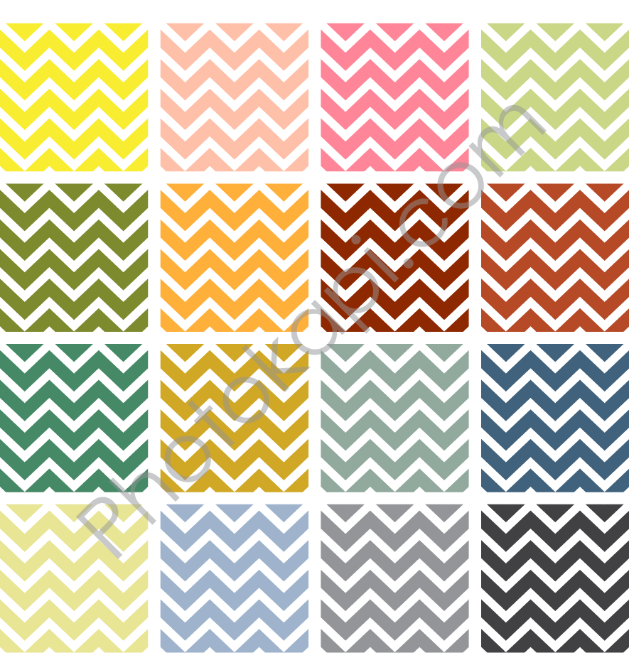 chevron pattern template printable - 885×943