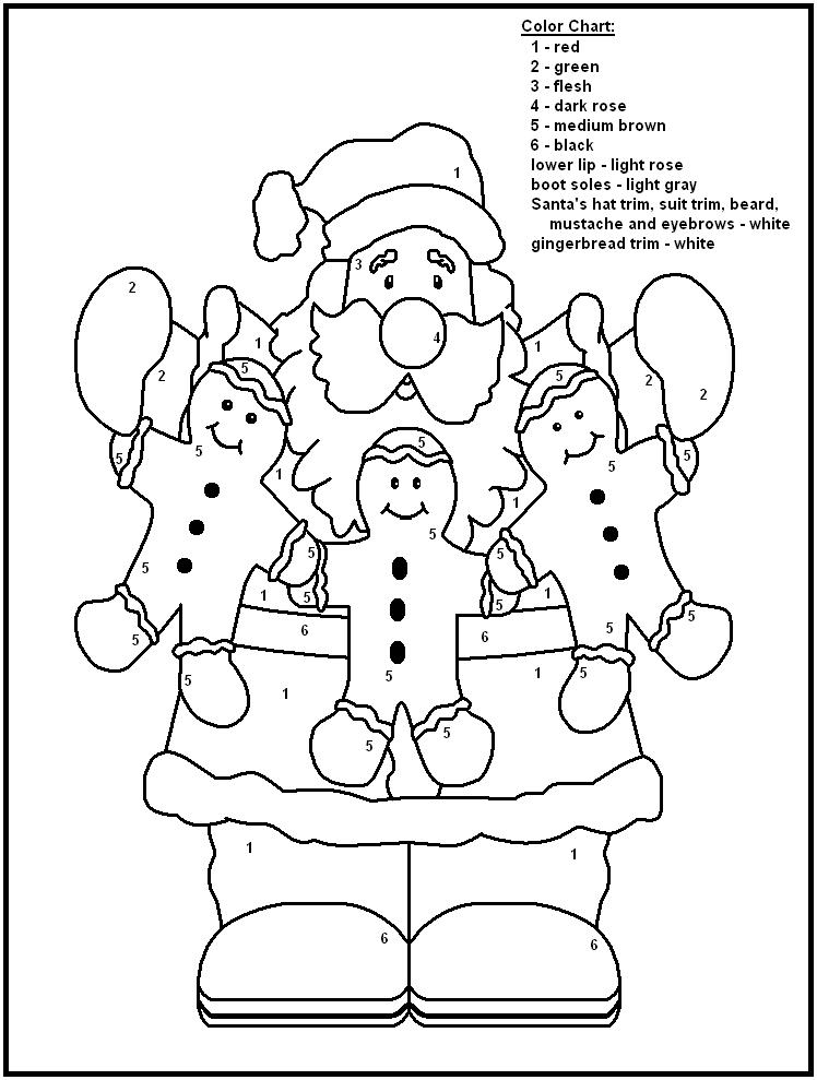 Printables Color By Number Christmas Worksheets color by number christmas worksheets davezan free printables for kindergarten