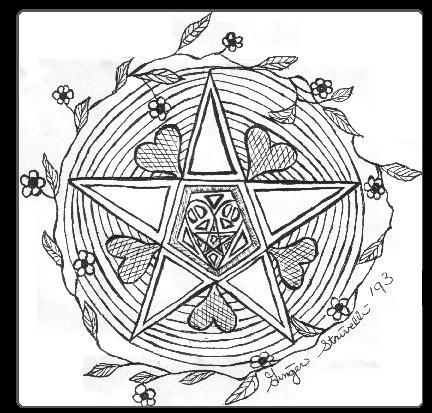 6 Images of Pagan Symbols Coloring Page Printable