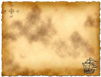 6 Images of Printable Treasure Map Template