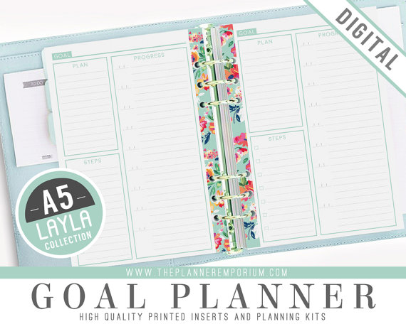 Free Planner Printables A5 Inserts