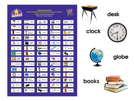 This is a picture of Universal Free Printable Classroom Labels With Pictures