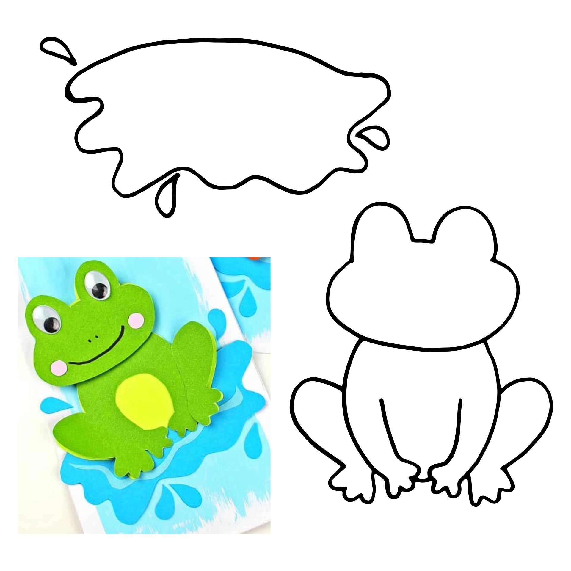 Printable Frog Crafts
