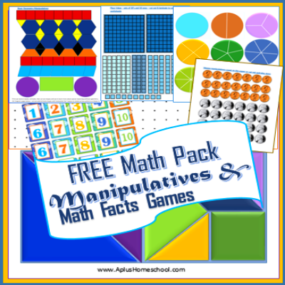 9 Images of Printable Math Manipulatives