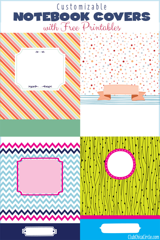 9 Images of Free Printable Notebook Covers