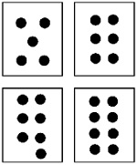 5 Images of Printable Dot Flash Cards
