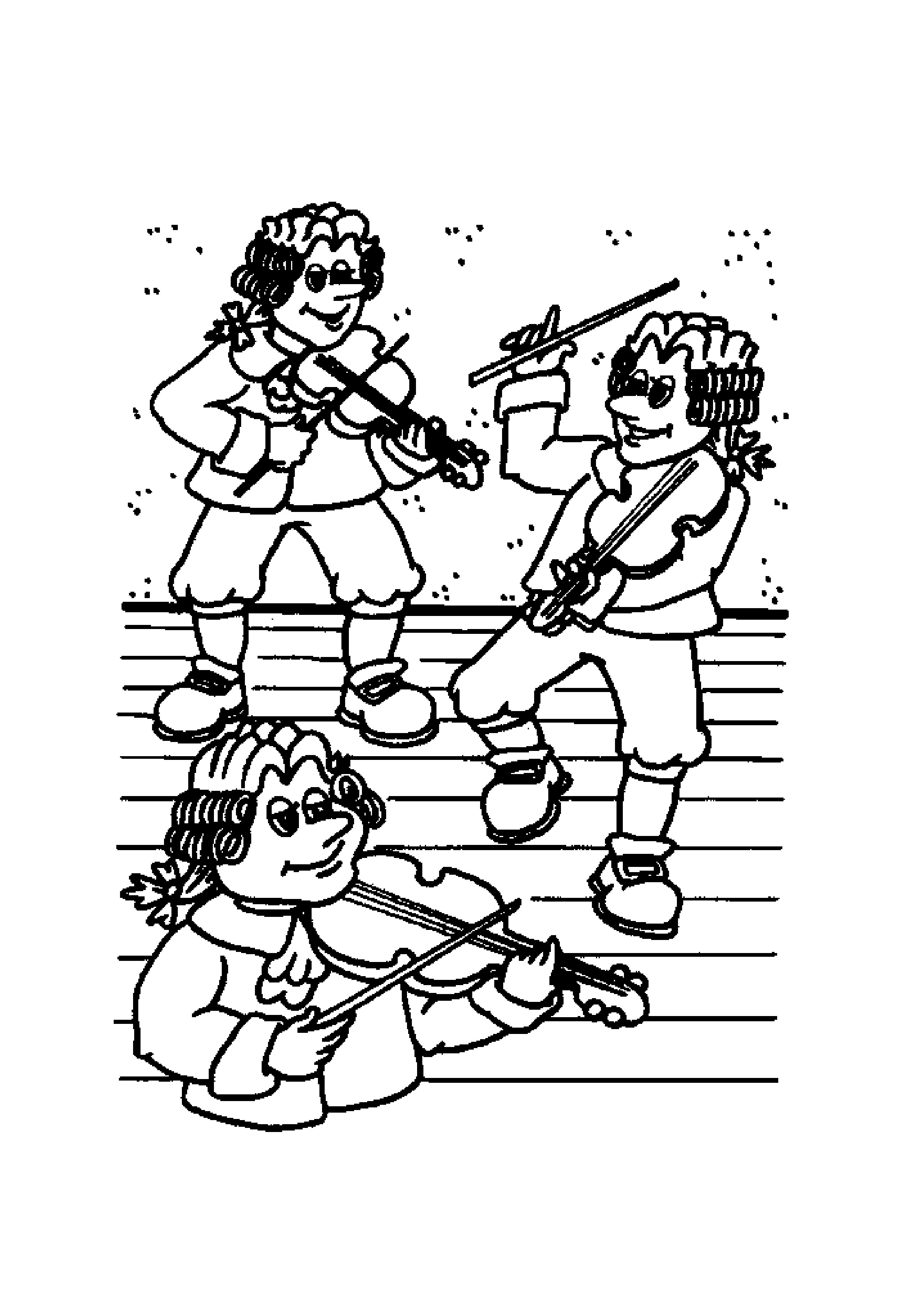 6 Best Images Of Nursery Rhymes Coloring Printables