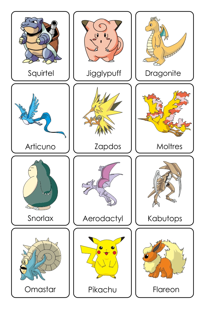 7 Images of Pokemon Cards Printables To Print