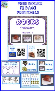 7 Images of Rocks Of Free Printables