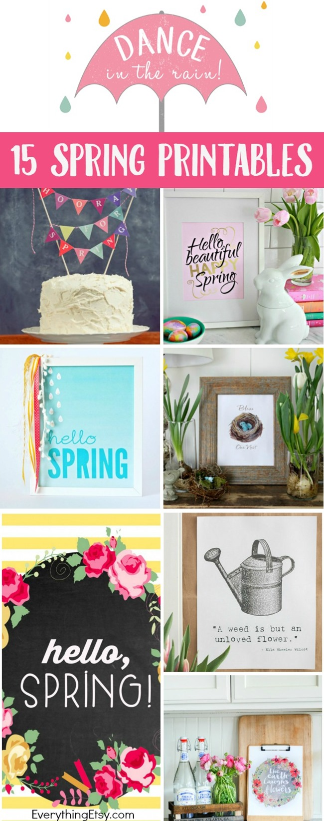 6 Images of DIY Home Decor Free Printables