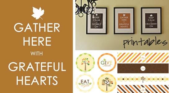Free Printable Thanksgiving Decorations