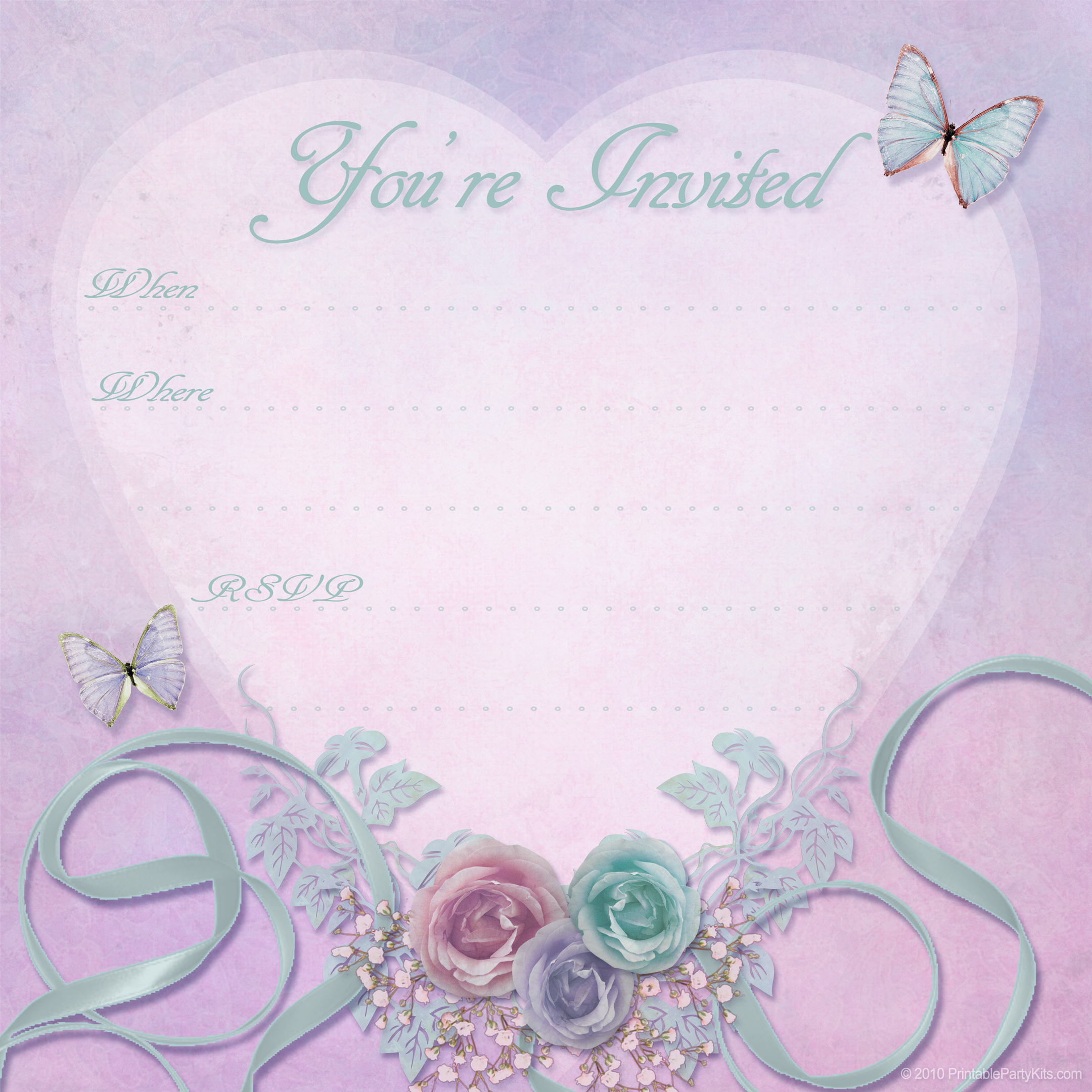 printable free valentine party invitation templates printable free
