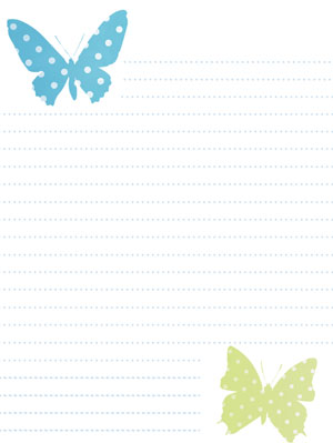 Free Spring Stationery Printable Stationary
