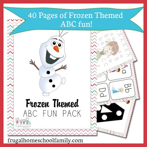 Frozen Free Printable Activities