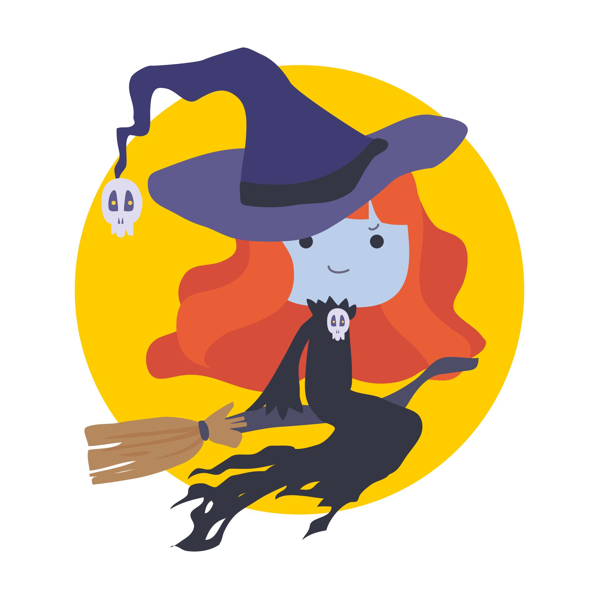 Halloween Witch Clip Art Free