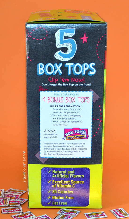 5 Images of Colored Box Tops Free Printable