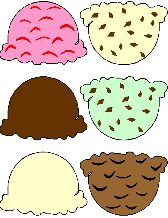 5 Images of Free Printable Ice Cream Pattern