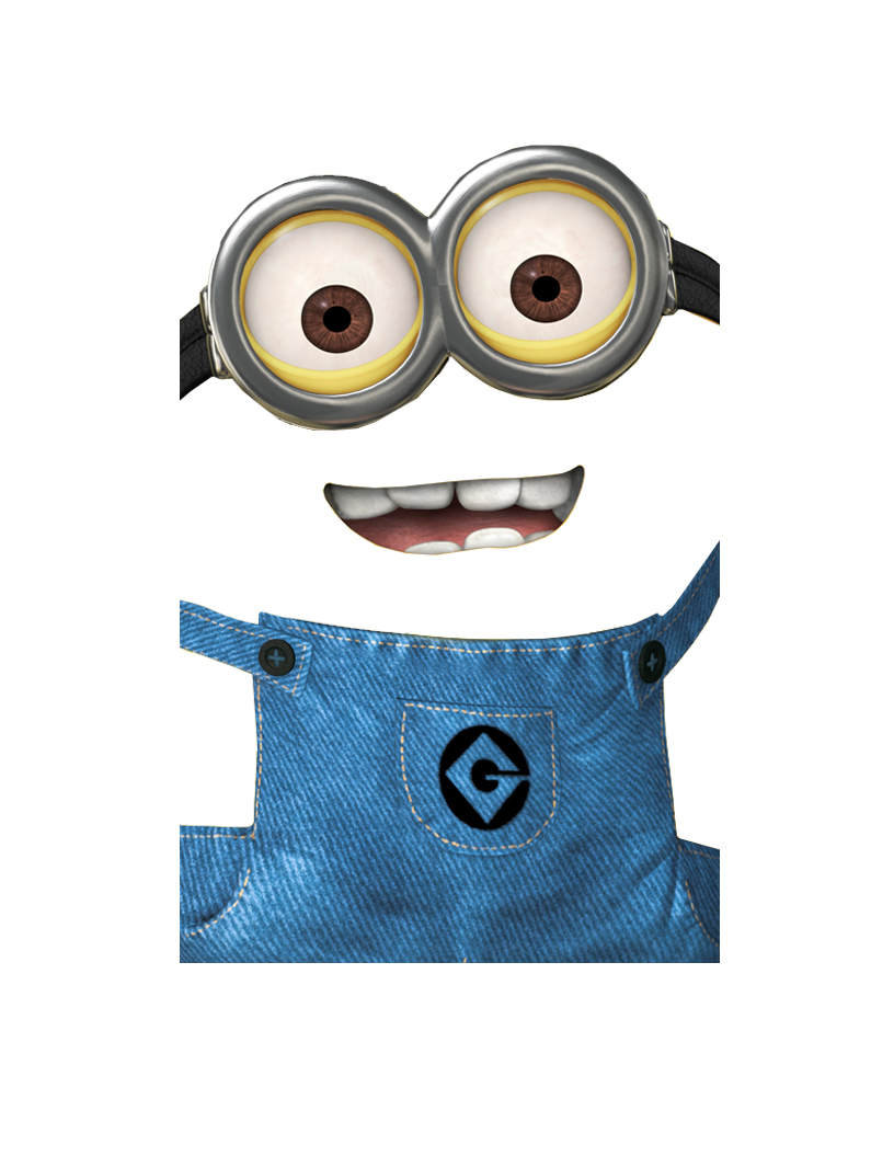 5 Images of Printable Minion Faces