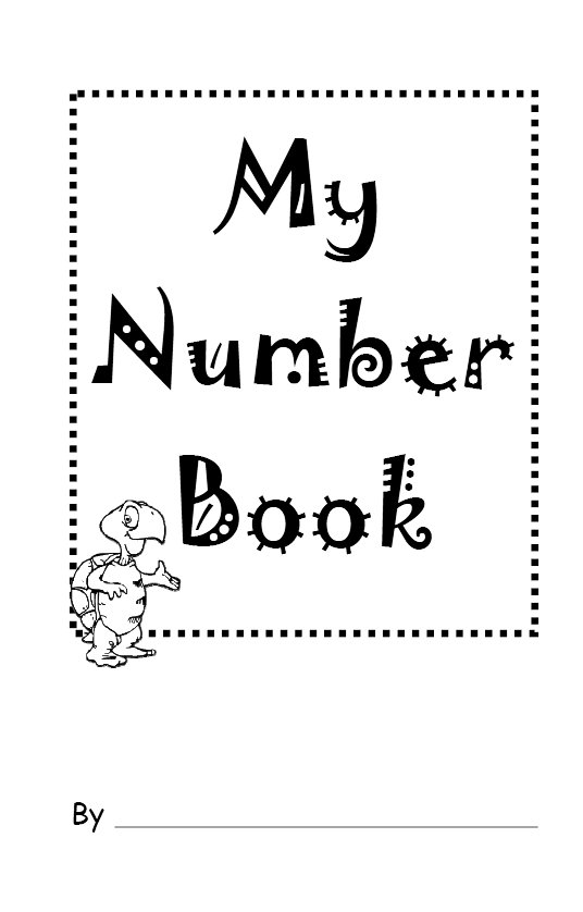 My Abc Book Cover Printable : Best images of my first number book printable free