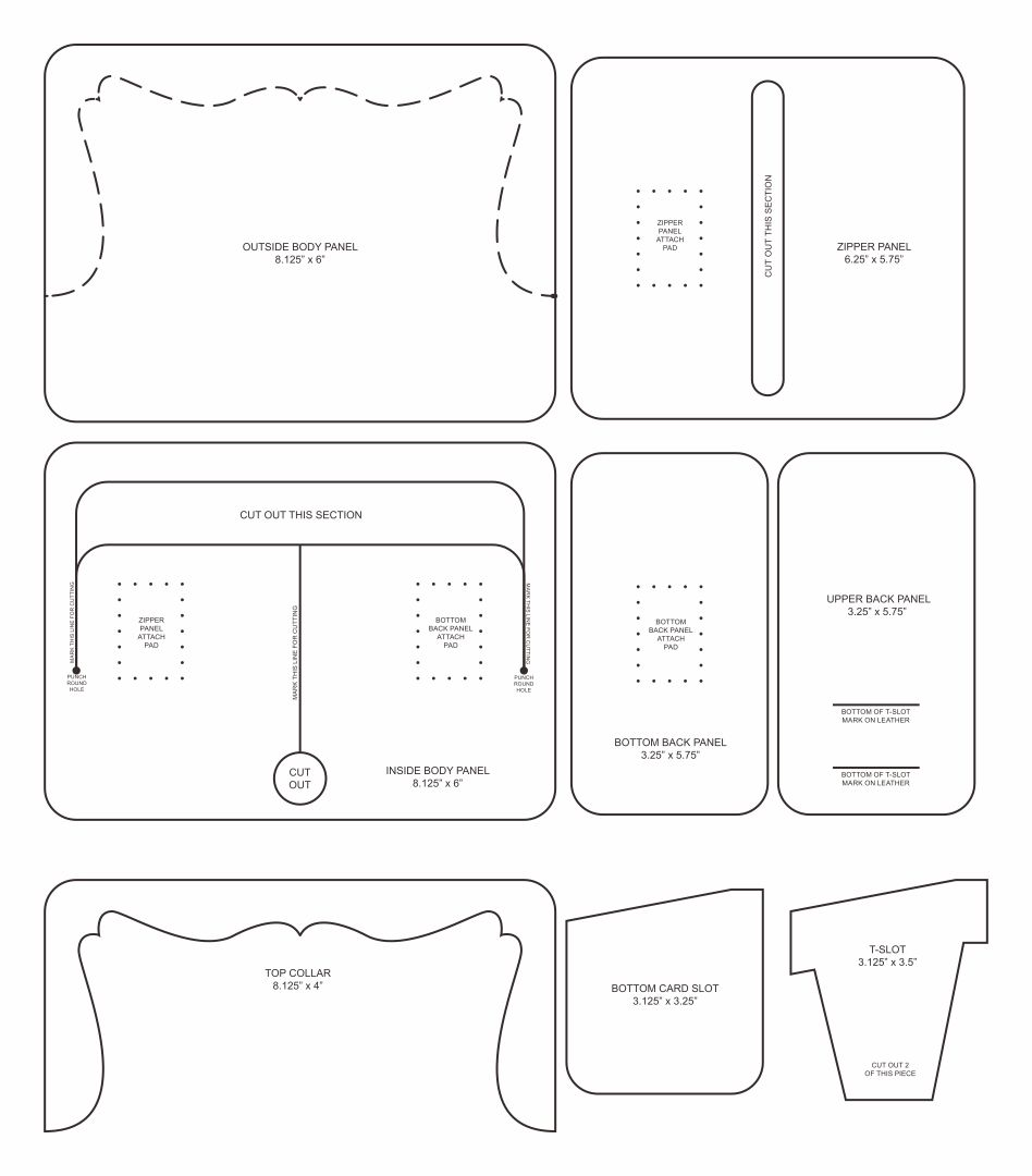 Paper Purse Template Patterns