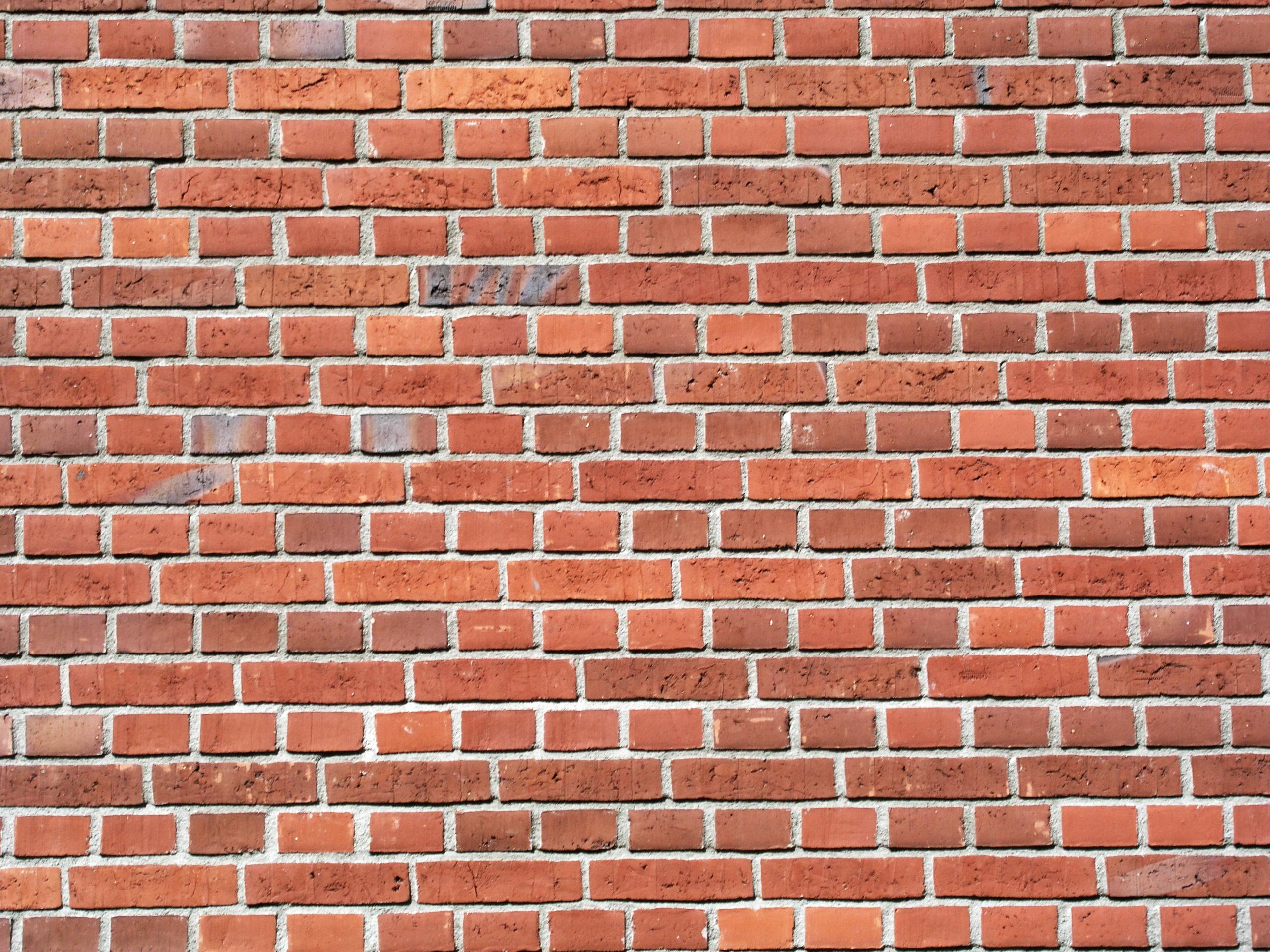 Printable Brick Pattern Wall