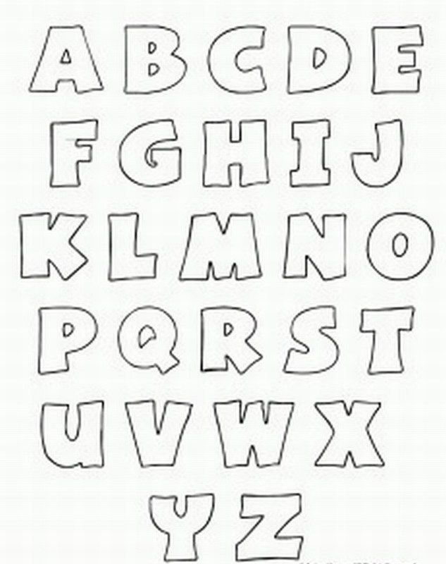 7 Images of Printable Stencils To Trace Letters Alphabet X