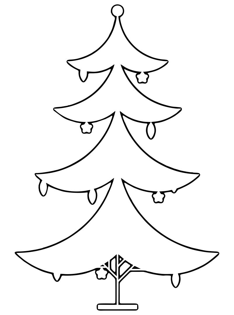 Printable Christmas Tree Ornament Patterns