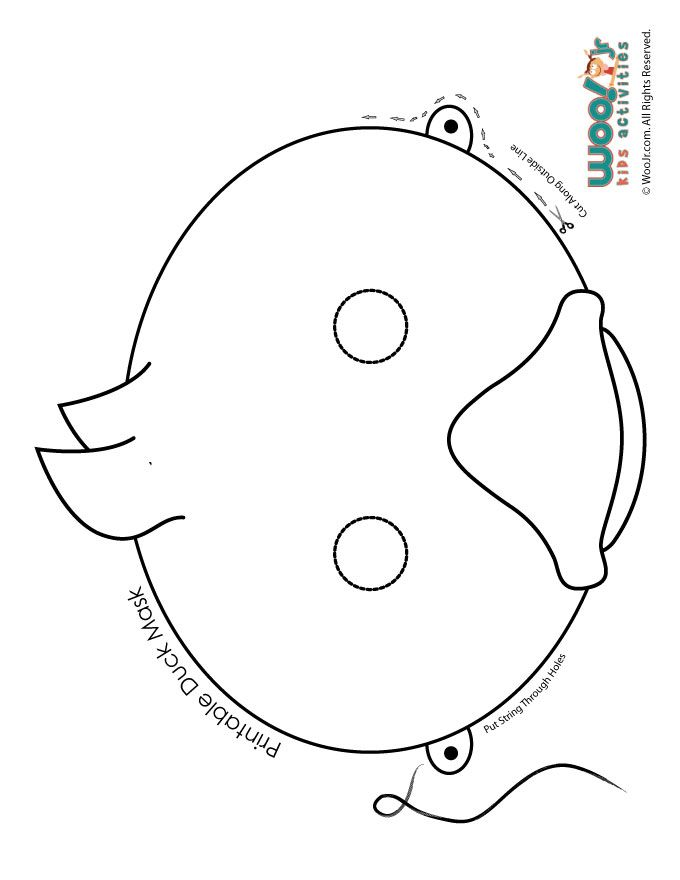 Cat Mask Coloring Page (With images) | Printable animal masks ... | 880x680