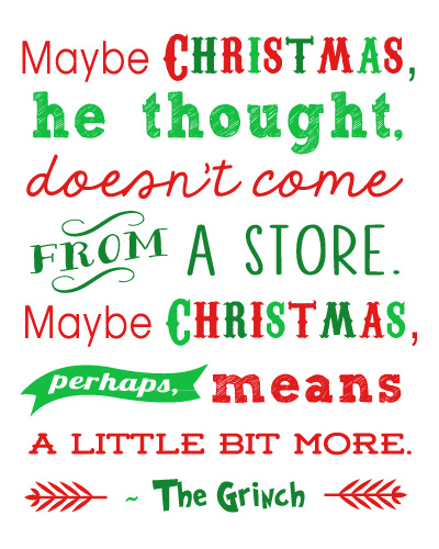 8 Images of Grinch Who Stole Christmas Printables